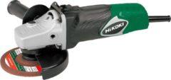 Hikoki G13SB4Y2Z Haakse slijpmachine 125mm / 1. 400 W met anti-vibratie handgreep