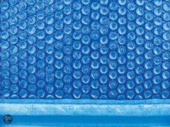 Blauwe Interline Zwembad Interline zomerafdekking voor zwembaden, 7,30 x 3,60 ovaal
