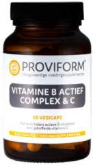 Proviform Vitamine B actief complex & C 60 Vegacaps