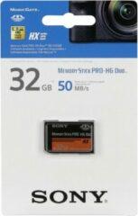 Zwarte Sony Memory Stick Pro HG Duo HX 32GB Class 4