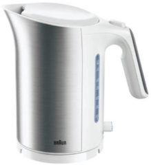 Braun ID Collection - 2.200W, 1,7L, snoerloos, snelkooksysteem 200ml/45sec, wit/rvs