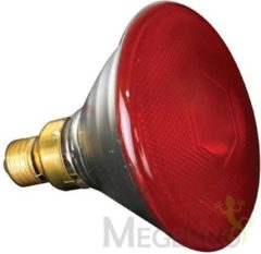 Rode Sylvania Reflectorlamp PAR38 rood 80W grote fitting grote fitting E27