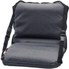 Zwarte Deryan Air-Traveller Vliegtuigbedje - Reiskussen met matras