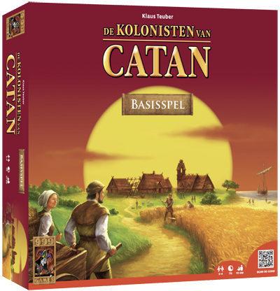 Afbeelding van 999 Games Spel De Kolonisten Van Catan Basisspel K5 (6106235)