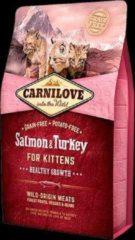 Carnilove Zalm & Kalkoen Kittens 2kg