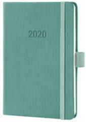 !weekagenda Sigel Conceptum A6 jade groen,176 blz., 80 g 2 Pagina's = 1 Week