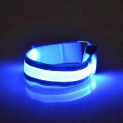 HotHotSale LED Hardloop Armband - Fiets - Outdoor Sport Armband - Reflecterende Hardloop Verlichting - BLAUW
