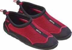BECO waterschoenen - mesh - zwart/rood - maat 41