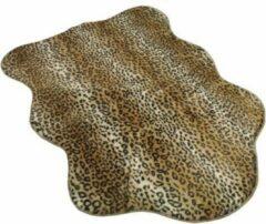 Bruine Goround Interior Goround Leopard Kleedje Panterprint 75x100cm