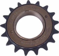 Zwarte Esjot Freewheel 17t 1/2 X 1/8 Inch