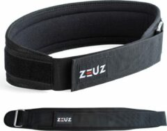 Zwarte ZEUZ® Gewichthefriem voor Fitness & Crossfit – Olympic Lifting belt - Gewichtheffen - Brace – Maat M