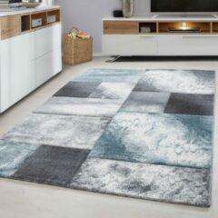 Ayyildiz Design Vloerkleed - Hawaii - Blauw / Grijs - 80x150 CM - Laagpolig