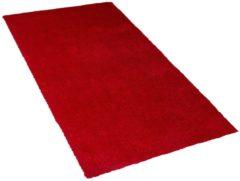 Vloerkleed rood 80 x 150 cm DEMRE