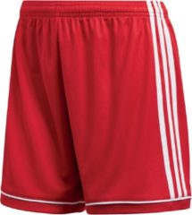 Rode Adidas Squad 17 Sportbroek performance - Maat L - Vrouwen - rood/wit