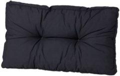 Madison florance rugkussen Basic 73x43 cm - zwart