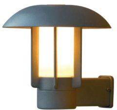 Konstsmide Buitenlamp 'Heimdal' Wandlamp, E27 max 60W / 230V, kleur Zilver
