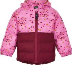 Color Kids - Softshell-jasje voor babymeisjes - Dots - Donkerrood - maat 80cm