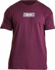 Bodybuilding T-Shirt Mannen Comfort Rood - Pursue Fitness