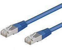 Blauwe SF-UTP Kabel - 2 meter - Blauw - Goobay