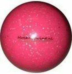 Hockeybal glitter roze - reject - 12 stuks