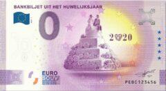 Paarse 0 Euro Biljet 2021 - Bankbiljet uit het huwelijksjaar