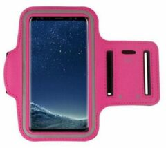Pearlycase Sport Armband hoes voor Sony Xperia XZ3 - Roze