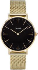Gouden CLUSE La Boheme horloge van roestvrijstaal CW0101201014