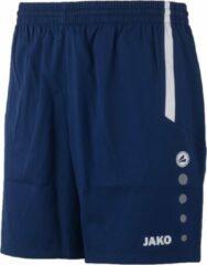 Marineblauwe Jako Turin Short - Voetbalbroek - Mannen - Maat XL - Blauw