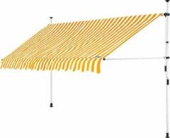 Detex klem luifel Geel/Wit 350cm