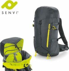 Senvi Sports - SLX Ultra Licht Sport Rugzak - Kleur Grijs/Geel - SVQX335