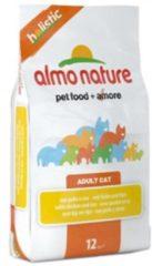 Almo Nature Holistic Kattenvoer Kip&Rijst 12 kg