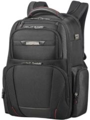 Zwarte Samsonite Laptoprugzak - Pro-Dlx 5 Laptop Backpack 3V 15.6 inch Black