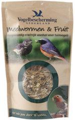 Vogelbescherming nederland meelwormen & fruit in pouche 100g