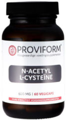 Proviform N-Acetyl-L-Cysteine 600mg Capsules 60st