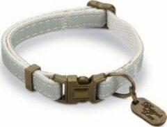 DbL Virante - Kattenhalsbandje - Mint - 20 - 30 cm x 10 mm - 10 mm - 20 - 30 cm