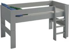 DS Style Halfhoogslaper Kids M 90x200cm in grijs