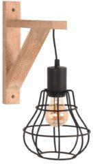 LABEL51 - Zwart Metaal I Naturel Mangohout - Industrieel - Zwart