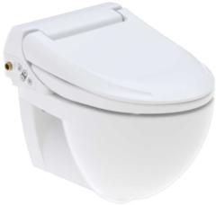 Douche Concurrent Wandcloset Geberit Aquaclean 4000 Hangend Toilet Wit Diepspoel Douchewc