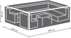 Antraciet-grijze Maxx Lounge set beschermhoes - 280 x 230 x 80 cm - rechthoekig - XL