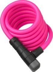 ABUS Primo Key Color - Kabelslot Spiraalkabel - 5510K/180/10PK - Roze