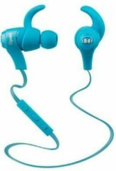 Monster Cable iSport Bluetooth Draadloos In-Ear Oordopjes - Blauw