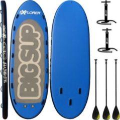 Explorer BIG SUP Stand Up 8-10 P. Paddle Board Set Brett Surfboard Surfbrett Paddelboard
