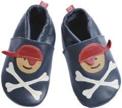 Blauwe Anna und Paul babyslofjes Pirat marine