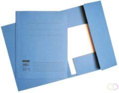 Dossiermap Quantore folio 320gr blauw