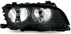 BMW KOPLAMP RECHTS ZWART tot 8/'02 inclusief stelmotor