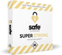 Transparante Safe Super Strong Condooms - 36 stuks