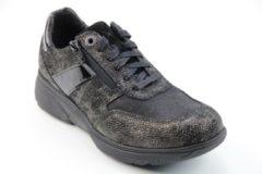 Zwarte Xsensible -Dames - brons - sneaker-sportief - maat 36