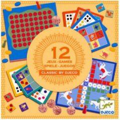 Djeco - Classic Box - 12 spellen - 4+