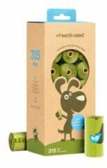 Earth Rated Poepzakjes - Hondenpoepzakjes - 22.8x33 cm Groen 21 rol