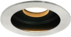 Mexlite Belton ronde stalen inbouwspot | Ø10 cm | GU10 | Staal
